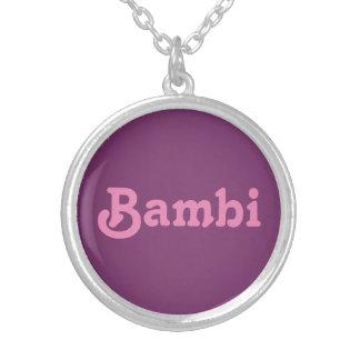 Halsband Bambi