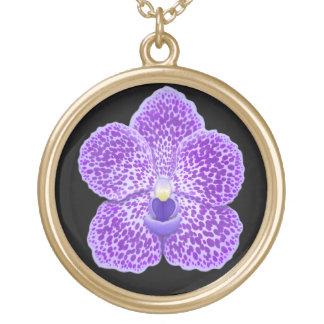 Halsband för blomma för blåttVanda Orchid