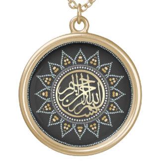 Halsband för Calligraphy för solrosBismillah