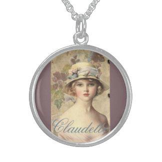 Halsband för Cameo för vintageVictorianfransyska