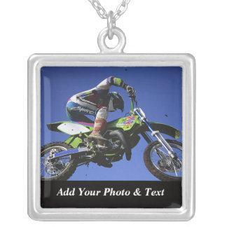 Halsband för fotoMotocrosssportar