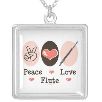 Halsband för fredkärlekflöjt