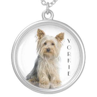 """Halsband för hänge för Yorkie """"Yorkshire Terrier"""""""
