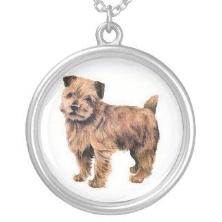 Halsband för hund för Norfolk Terrier