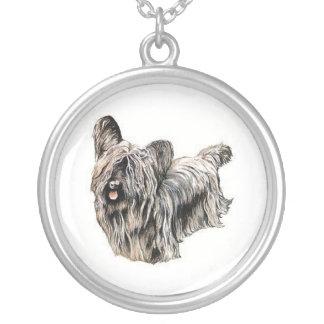 Halsband för hund för Skye Terrier