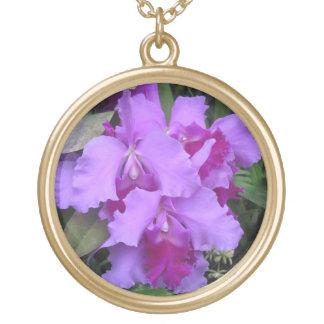 Halsband för lavendelCatleya Orchids