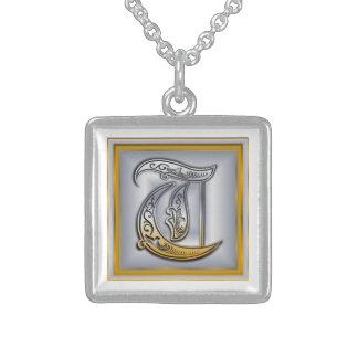 Halsband för Monogram för T-royal initialt