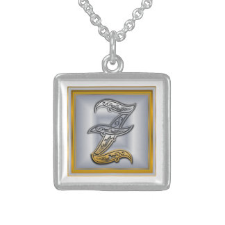 Halsband för Monogram för z-royal initialt