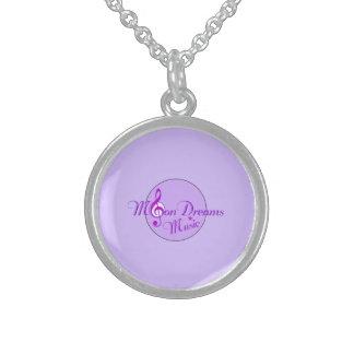 Halsband för MoonDreams musiksterling silver