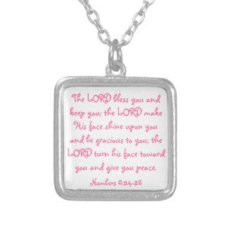 Halsband för mors dagbibelverse
