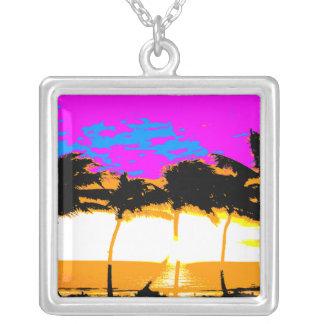 Halsband för palmträd för Corey tiger80-tal