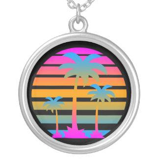 Halsband för palmträd för Corey tiger80-tal Retro