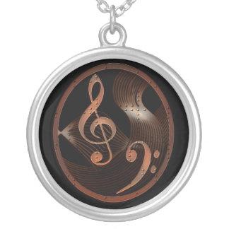 Halsband för Steampunk musikdesign