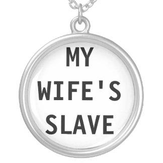 Halsband min slav- fru