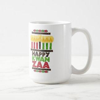 Hälsningar av den Kwanzaa Kwanzaa muggen Kaffemugg