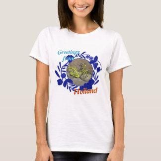 Hälsningar för Delftware mönstercykel från Holland T Shirts
