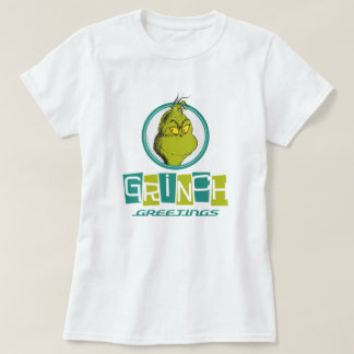 Hälsningar för Dr. Seuss | Grinch T Shirt