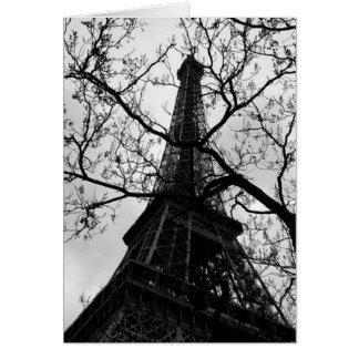Hälsningar för Eiffel tornParis tomma tillfällen Hälsningskort