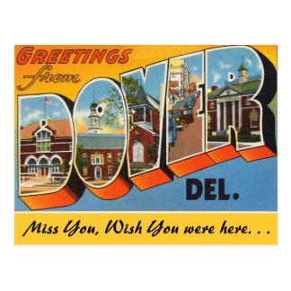 Hälsningar från Dover, Delaware Vykort