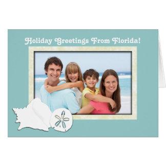 Hälsningar från Florida fotojulkort Hälsningskort