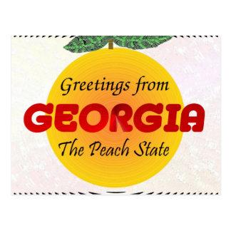 Hälsningar från Georgia Vykort
