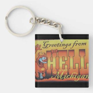 Hälsningar från helvete, Michigan Keychain 1