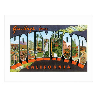 Hälsningar från Hollywood! Vykort
