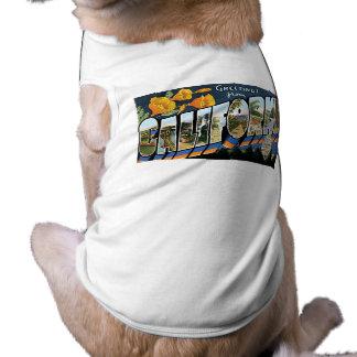 Hälsningar från Kalifornien! Långärmad Hundtöja