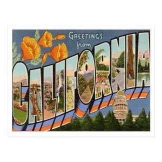 Hälsningar från Kalifornien Vykort