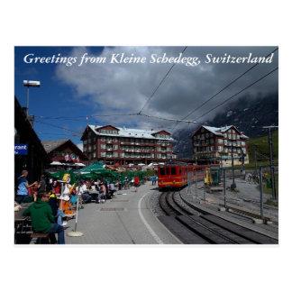 Hälsningar från Kleine Schedegg 1 Vykort