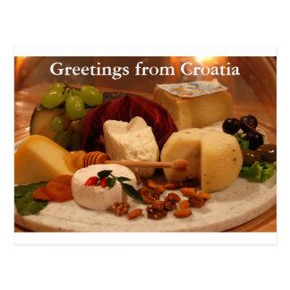Hälsningar från Kroatien Vykort