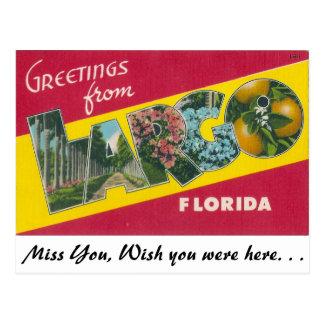 Hälsningar från Largo, Florida Vykort