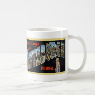 Hälsningar från muggen för Pittsburgh Kaffemugg