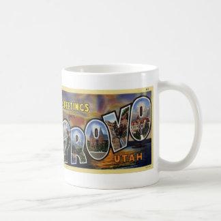 Hälsningar från muggen för Provo Utah Kaffemugg