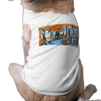 Hälsningar från New York, New York! Långärmad Hundtöja