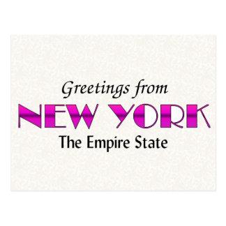 Hälsningar från New York Vykort