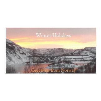 Hälsningar från norgen (photocarden) fotokort