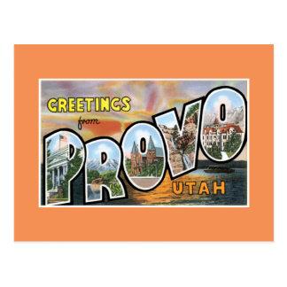 Hälsningar från Provo Vykort