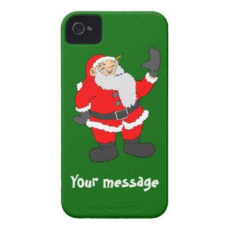 Hälsningar från Santa, tillfogar precis ditt egna Case-Mate iPhone 4 Skal