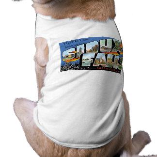 Hälsningar från Sioux Falls, South Dakota! Retro Djur Shirt
