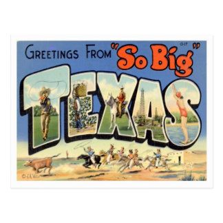 Hälsningar från Texas Vykort
