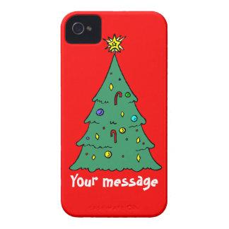 Hälsningar med Christma, tillfogar precis ditt iPhone 4 Case-Mate Cases