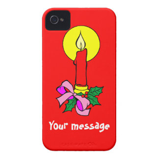 Hälsningar med stearinljuset, tillfogar precis Case-Mate iPhone 4 fodral