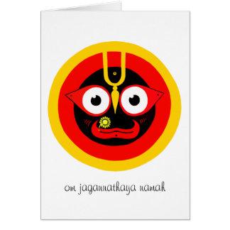 Hälsningkort för Om Jagannathaya Hälsningskort
