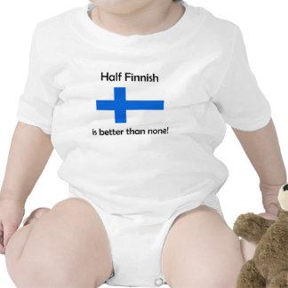 Halv finska bodies för bebisar