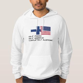 Halv för finska fantastisk fullständigt sweatshirt