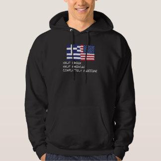 Halv för grek fantastisk fullständigt sweatshirt