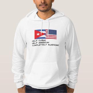 Halv för kuban fantastisk fullständigt sweatshirt med luva