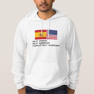 Halv för spanjor fantastisk fullständigt sweatshirt