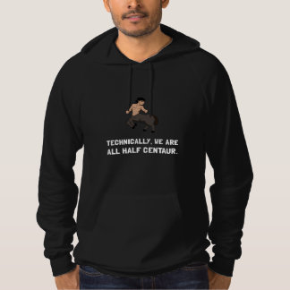 Halv kentaur hoodie